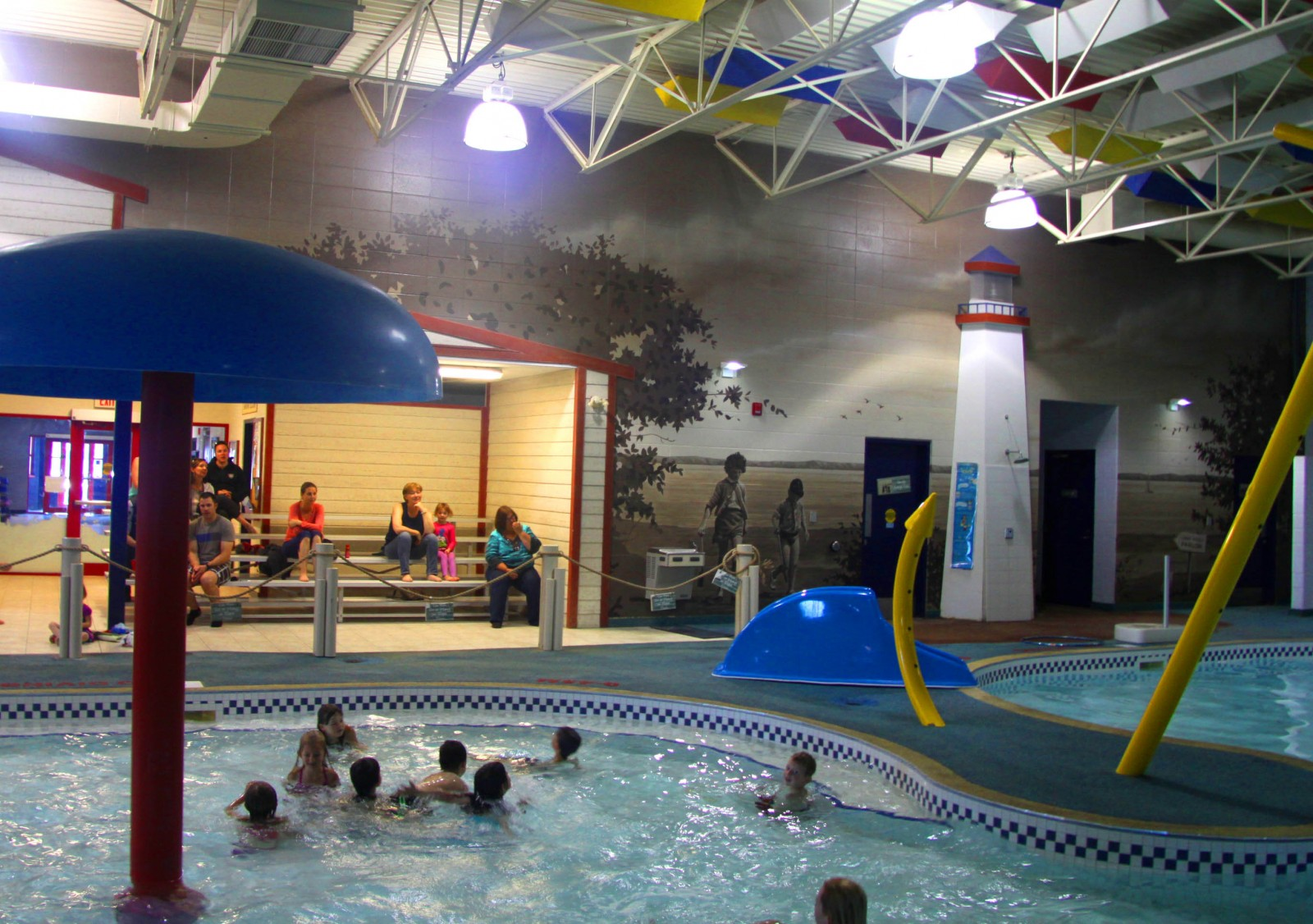 Municipal projects flying colors murals - Whitefish bay pool open swim hours ...