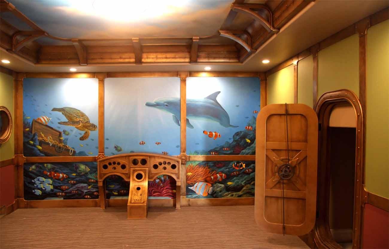 Murals Theme Rooms Flying Colors Murals